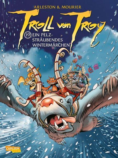 Troll von Troy 19: Ein pelzsträubendes Wintermärchen - Das Cover