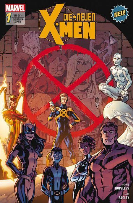 Die neuen X-Men 1 - Das Cover