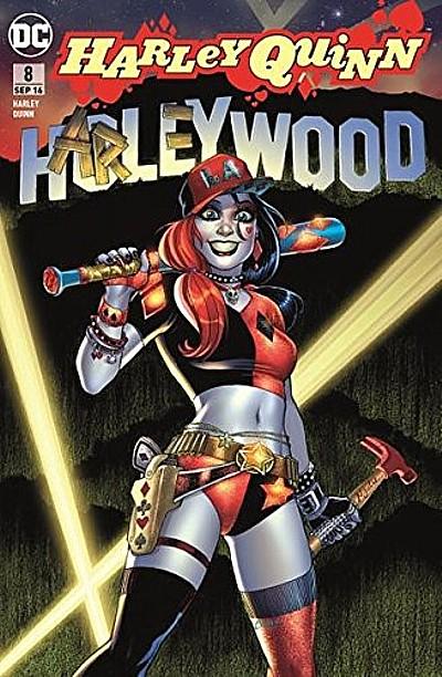 Harley Quinn 8: Von Hollywood bis Gotham City - Das Cover