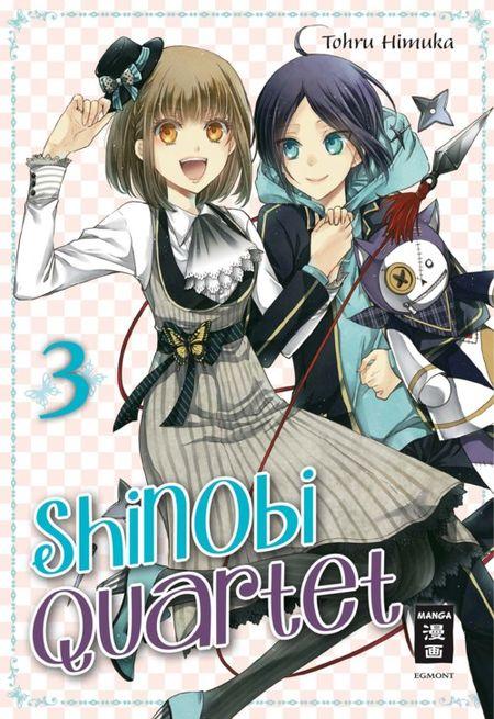 Shinobi Quartet 3 - Das Cover