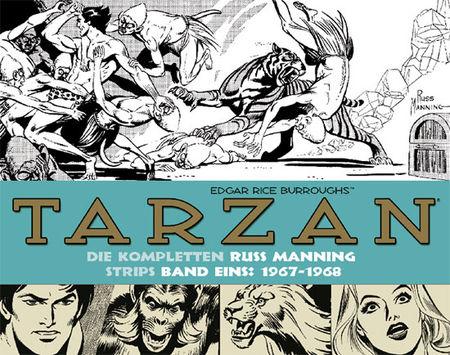 Tarzan - Die kompletten Russ Manning Strips 1: 1967-1968 - Das Cover