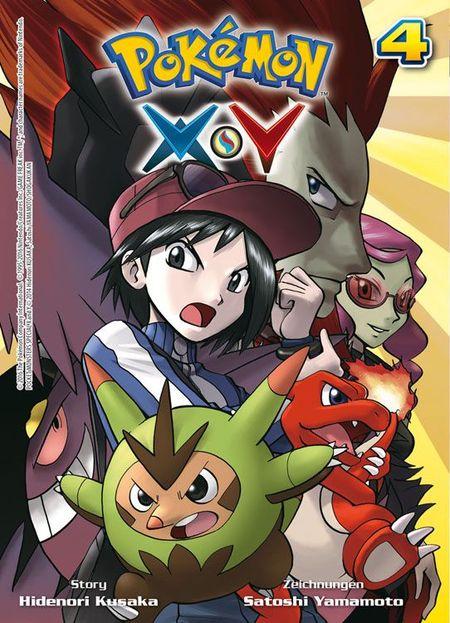Pokémon Y und X 4 - Das Cover