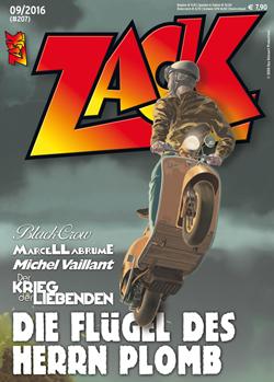 Zack 207 - Das Cover