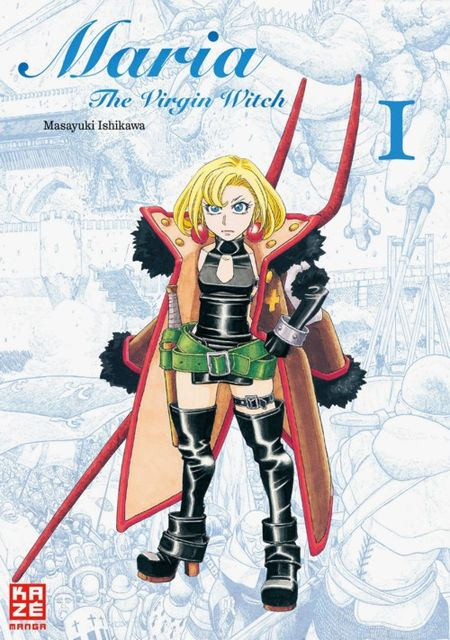 Maria - The Virgin Witch 1 - Das Cover