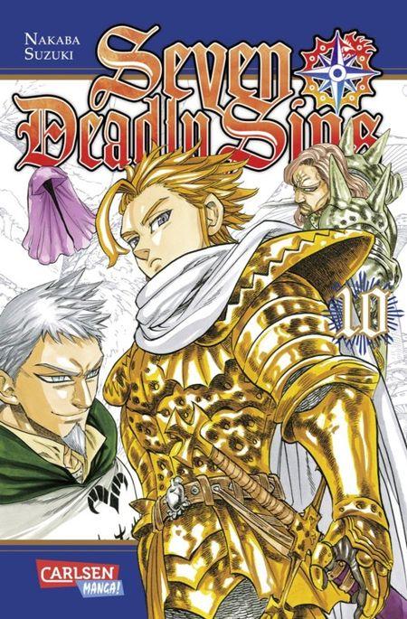 Seven Deadly Sins 10 - Das Cover