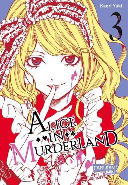 Alice in Murderland 3 - Das Cover