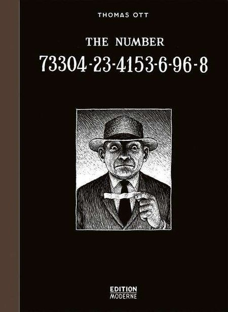 The Number 73304-23-4153-6-96-8 - Das Cover