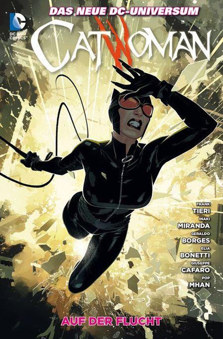 Catwoman 9: Auf der Flucht - Das Cover