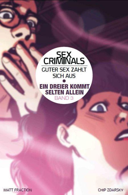 Sex Criminals - Guter Sex zahlt sich aus 3: Ein Dreier kommt selten allein - Das Cover