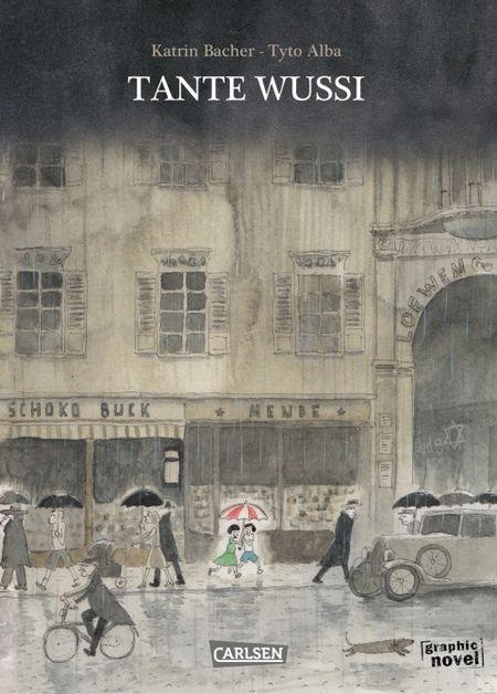 Tante Wussi - Das Cover
