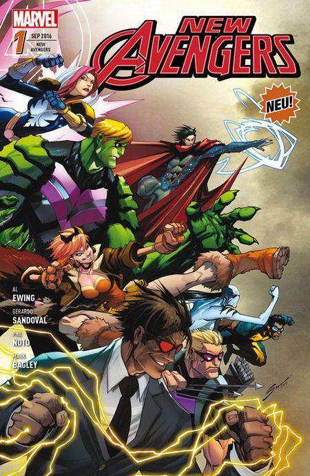 New Avengers 1: Helden auf Bewährung - Das Cover