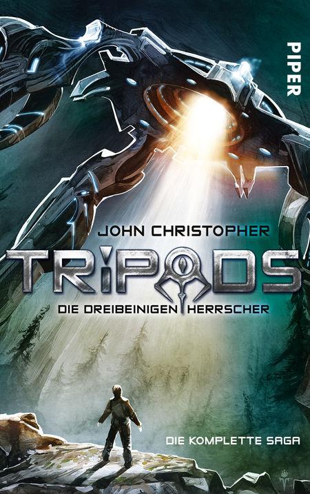 Tripods. Die dreibeinigen Herrscher: Die komplette Saga - Das Cover