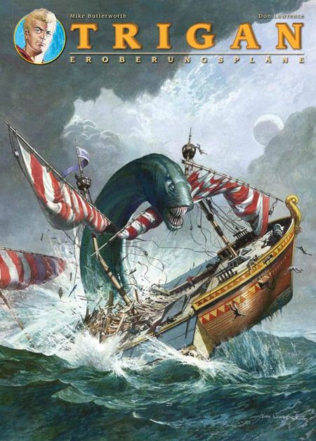 Trigan Band 5: Eroberungspläne - Das Cover