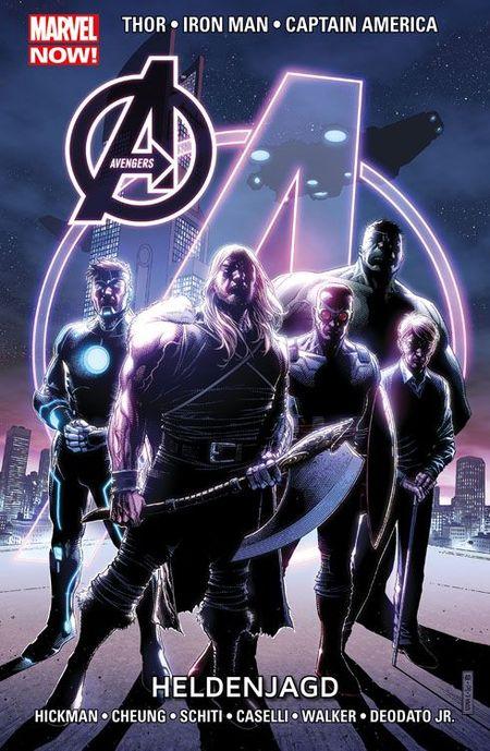 Marvel Now: Avengers 6 - Heldenjagd - Das Cover