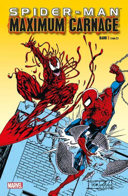 Spider-Man: Maximum Carnage Band 2 - Das Cover