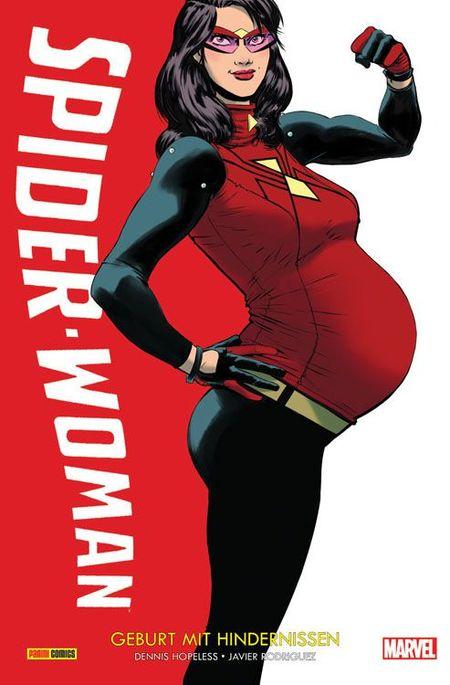 Spider-Woman 1: Geburt mit Hindernissen - Das Cover