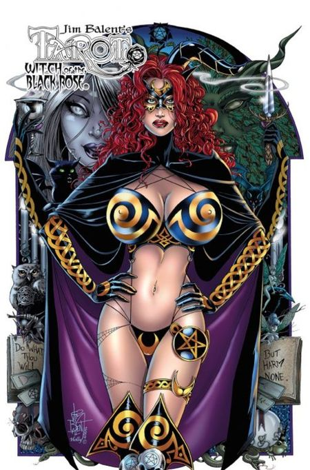 Tarot – Witch of the Black Rose 15:  Im Griff des Todes-Elfs! - Das Cover