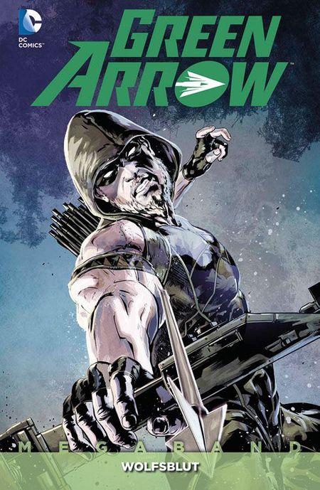 Green Arrow Megaband 4: Wolfsblut - Das Cover
