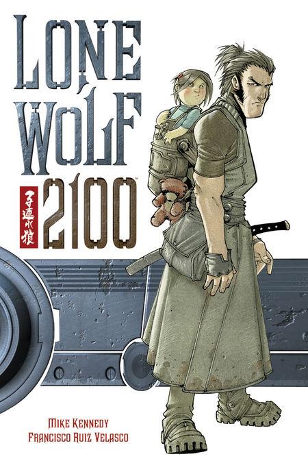Lone Wolf 2100 - Das Cover