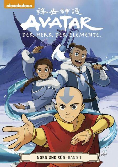 Avatar: Der Herr der Elemente Band 14: Nord und Süd 1 - Das Cover