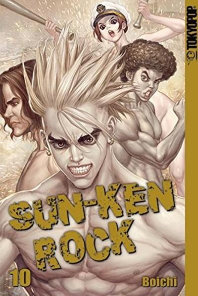 Sun-Ken Rock 10 - Das Cover