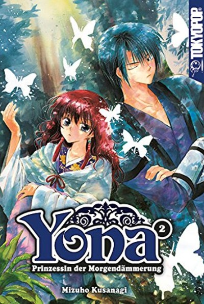 Yona-Prinzessin der Morgendämmerung 2 - Das Cover