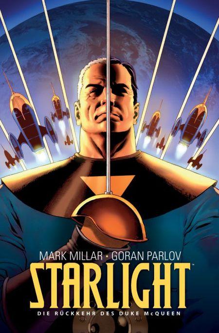 Starlight 1: Die Rückkehr des Duke McQueen - Das Cover