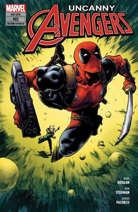 Uncanny Avengers 2: Verstärkung aus der Zukunft - Das Cover