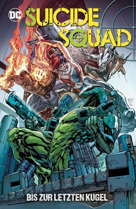 Suicide Squad: Bis zur letzten Kugel - Das Cover