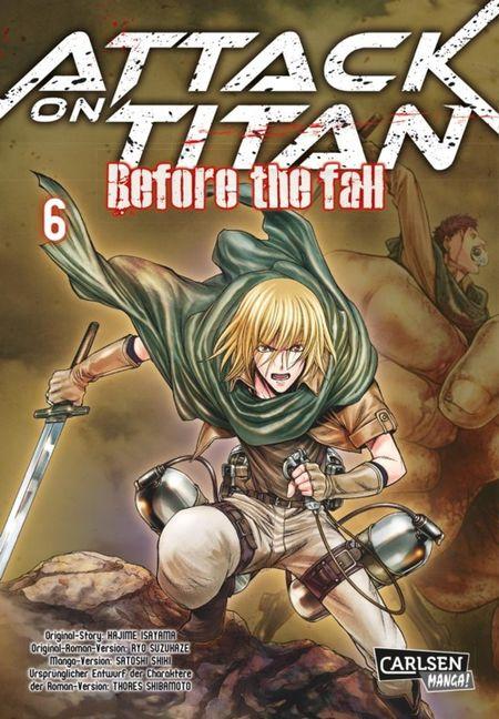 Attack on Titan - Before the Fall 6 - Das Cover