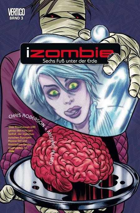 iZombie 3: Sechs Fuß unter der Erde - Das Cover