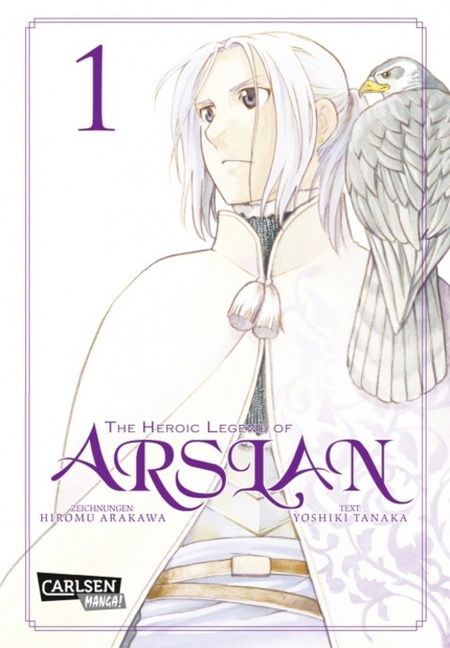 The Heroic Legend of Arslan 1 - Das Cover
