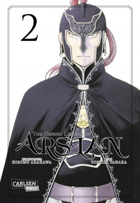 The Heroic Legend of Arslan 2 - Das Cover