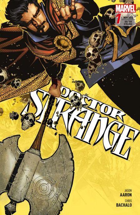 Doctor Strange 1: Der Preis der Magie - Das Cover