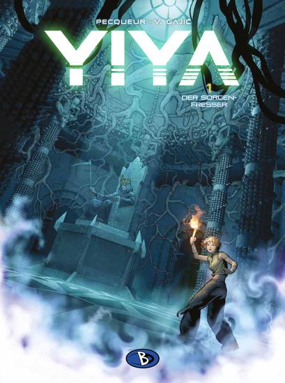 Yiya 1: Der Sorgenfresser - Das Cover