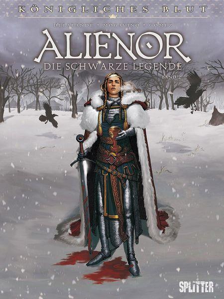 Königliches Blut – Alienor Band 2 - Das Cover