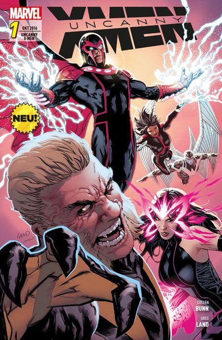 Uncanny X-Men 1 - Das Cover