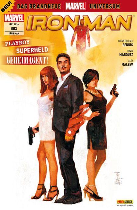 Iron Man 3 - Das Cover