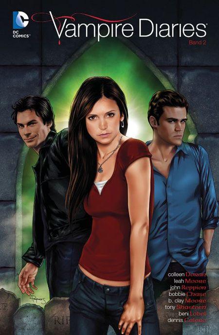 Vampire Diaries 2 - Das Cover