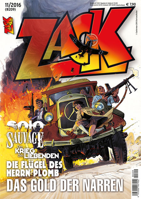 Zack 209 - Das Cover