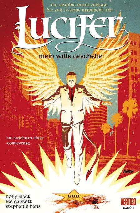 Lucifer 1: Mein Wille geschehe - Das Cover