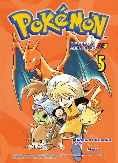 Pokémon: Die ersten Abenteuer 5 - Das Cover