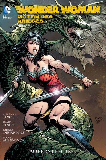 Wonder Woman - Göttin des Krieges 3: Auferstehung - Das Cover