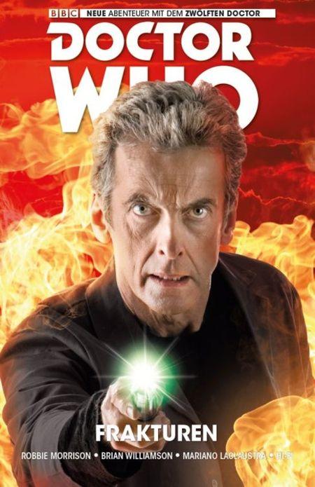 Doctor Who: Der zwölfte Doctor 2: Frakturen - Das Cover