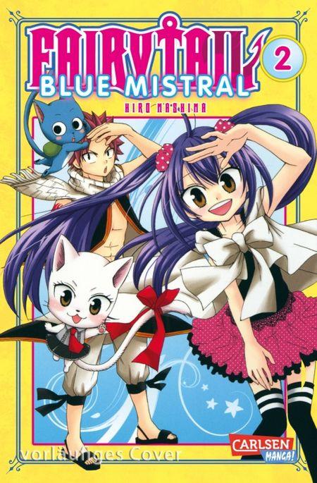 Fairy Tail Blue Mistral 2 - Das Cover