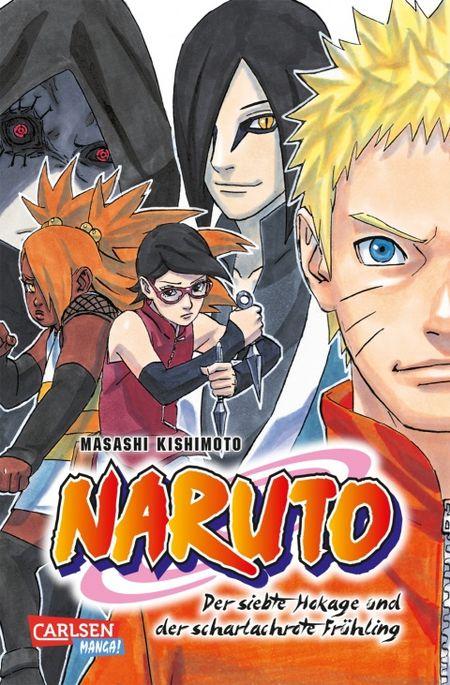NARUTO-Der siebte Hokage und der scharlachrote Frühling  - Das Cover