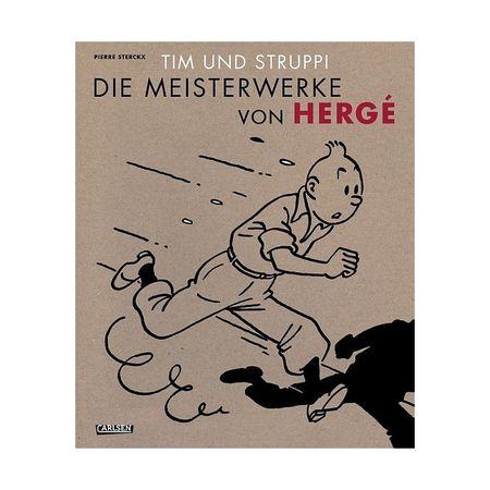 Tim und Struppi – Die Meisterwerke von Herge - Das Cover