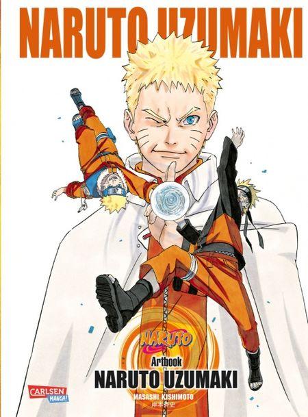 NARUTO UZUMAKI Artbook 3 - Das Cover