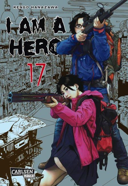 I am a Hero 17 - Das Cover