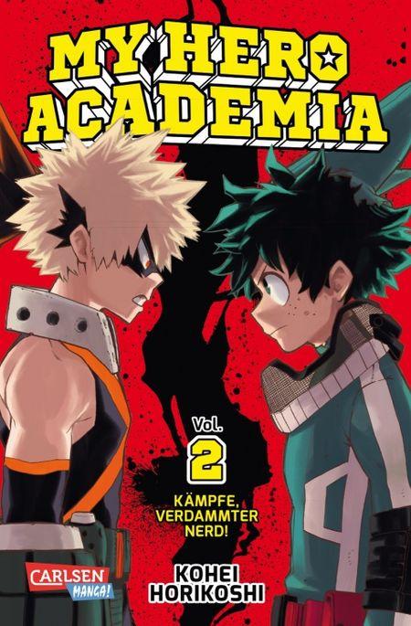 My Hero Academia Band 2 - Das Cover